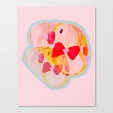 Twin Ducks Canvas Print