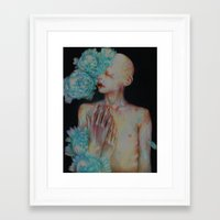 The One Who Once Covered By Stars Framed Art Print