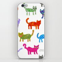 Cat Pattern iPhone & iPod Skin