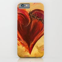 iPhone Cases featuring Reigning Love by NicoleFaye