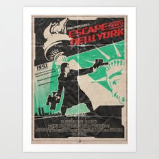1997 Escape From New York - John Carpenter Art Print