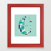 G! Framed Art Print
