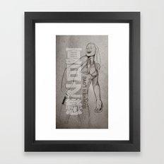 Summer Love Framed Art Print