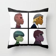 Garage Days Throw Pillow