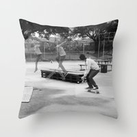 Skater Series #2 Throw Pillow