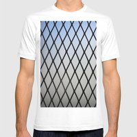 Grillin Mens Fitted Tee White SMALL