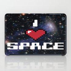 I Heart Space Retro Galaxy iPad Case