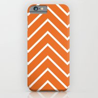 Orange Chevron iPhone 6 Slim Case