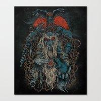 Nicodemus & The Rats Of … Canvas Print