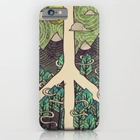 Peaceful Landscape iPhone 6 Slim Case