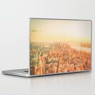 Laptop & iPad Skin featuring New York City Sunset by Vivienne Gucwa