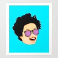 Disco Diva Art Print