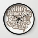 See the Forrest for the Trees Wall Clock