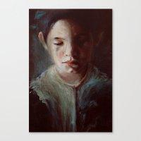 Untitled (dear God) Canvas Print