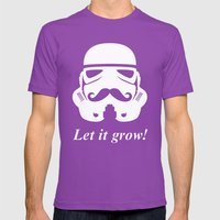 Bearded trooper Mens Fitted Tee Ultraviolet SMALL