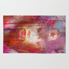 wonder abstract woman Rug
