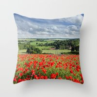 June Throw Pillow
