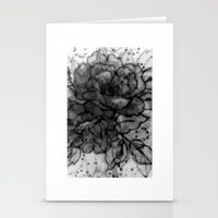 Spinning Roses Stationery Cards