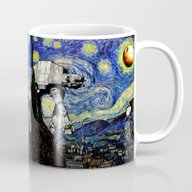 Starry Night Versus The … Mug