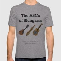 The ABCs of Bluegrass Mens Fitted Tee Athletic Grey SMALL