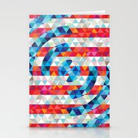 Abstract America Stationery Cards