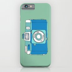 Holga Camera in Blue iPhone 6 Slim Case