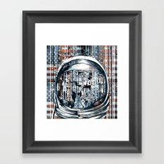 pop art usa collage 2 Framed Art Print