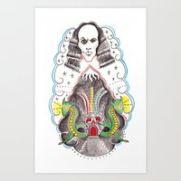 Dio : The Man On The Sil… Art Print