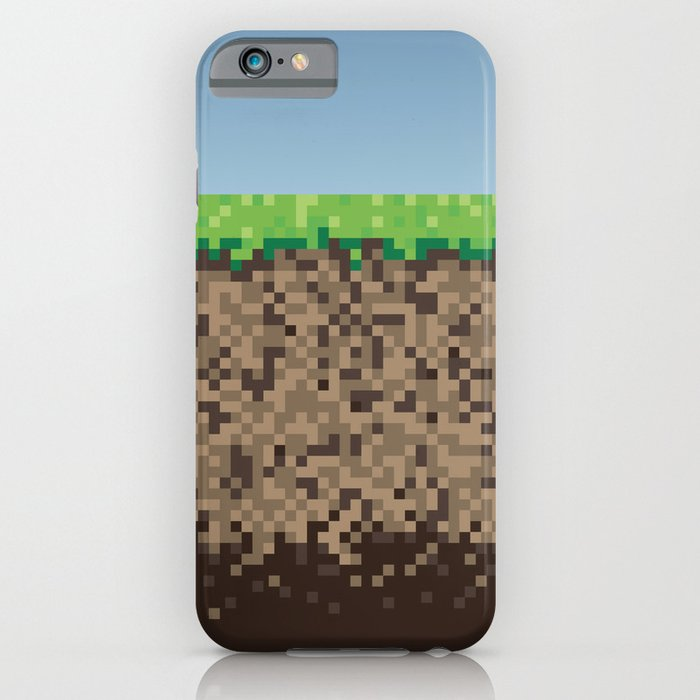 minecraft iphone case minecraft block iphone amp ipod by gameriot 7227