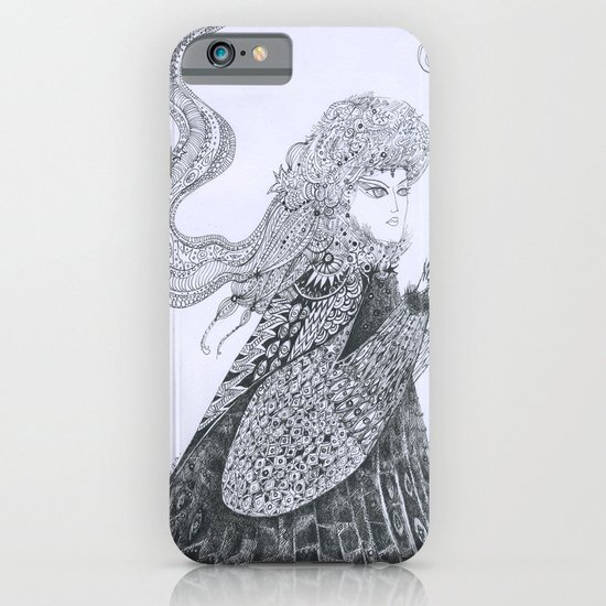 Winter Goddess iPhone & iPod Case