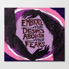 Embrace Your Desires Canvas Print