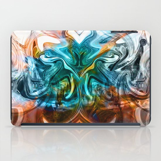 liquified time iPad Case