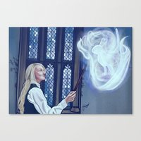 Loony Lovegood Canvas Print