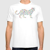 Wild Style Mens Fitted Tee White SMALL
