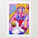 ITADAKIMASU!! Art Print