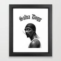 Salva Dogg Framed Art Print