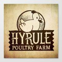Hyrule Poultry Farms Canvas Print