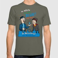 Mr. White Can Make Blue! Mens Fitted Tee Lieutenant SMALL