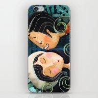 Kiss Good Night iPhone & iPod Skin