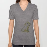 Pig Illustration Unisex V-Neck