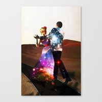 Lucy & DiMiTri Canvas Print