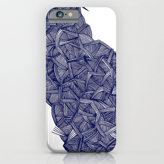 - blue lines - iPhone & iPod Case