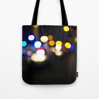 New York Lights Tote Bag