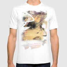 Eyes 2 SMALL White Mens Fitted Tee