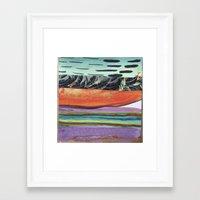 Tropicana Electric Framed Art Print