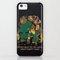 iPhone 5c Cases featuring oo-de-lally by Louis Roskosch