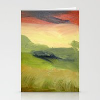 Fields Of Grain Stationery Cards