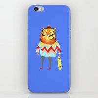 Tiger Dude iPhone & iPod Skin