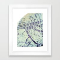 Melbourne Multiple Exposure Polaroid Framed Art Print