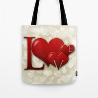 Love! Love! Love!  Tote Bag